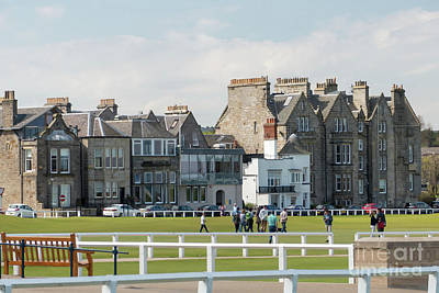 Photograph - St Andrews Hotels by Rod Jones