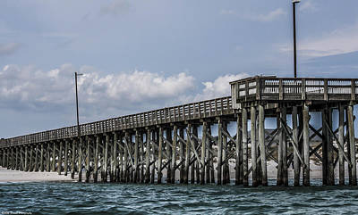 Photograph - St. Andrews Pier Panama City Beach  by Debra Forand