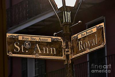 Photograph - St Ann At Rue Royale by Nadalyn Larsen