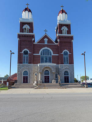 Photograph - St Anne Catholic Church by Fran Riley