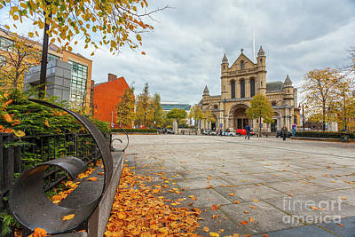 Photograph - St. Annes, Belfast Cathedral by Jim Orr