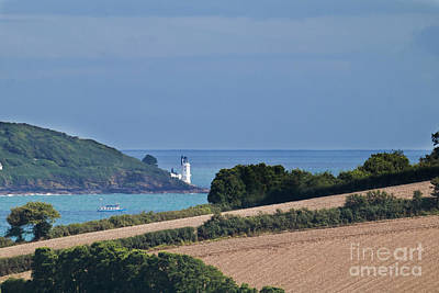 Photograph - St Anthony's Lighthouse From Greatwood by Terri Waters