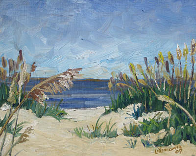Painting - St Augustine Beach II by D T LaVercombe