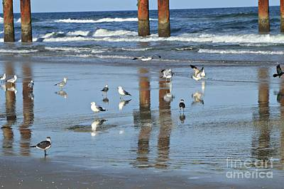 Photograph - St. Augustine Beach by Marcia Lee Jones