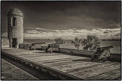 Photograph - St Augustine Castillo De San Marcos Dsc00141_16 by Greg Kluempers