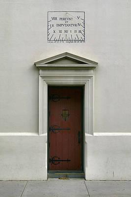 Photograph - St. Augustine Doorway by Lin Grosvenor
