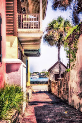 Photograph - St Augustine, Fl Deco Alley by Joedes Photography