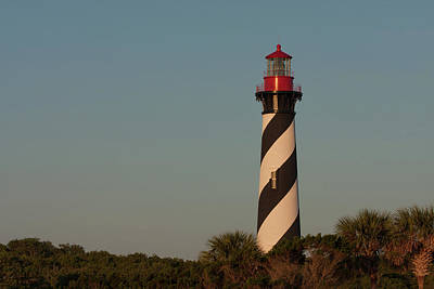 Photograph - St. Augustine Lighthouse #2 by Paul Rebmann