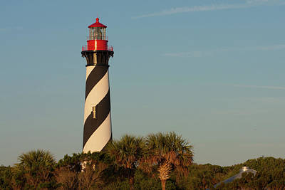 Photograph - St. Augustine Lighthouse #3 by Paul Rebmann