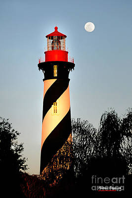 St. Augustine Lighthouse Art Print by Addison Fitzgerald