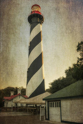 Photograph - St Augustine Lighthouse Dsc00390_16 by Greg Kluempers