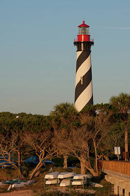 Photograph - St. Augustine Lighthouse by Paul Rebmann
