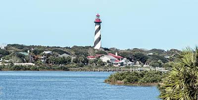 St. Augustine Lighthouse Art Print
