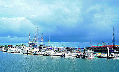 Photograph - St. Augustine Marina by Laurie Perry