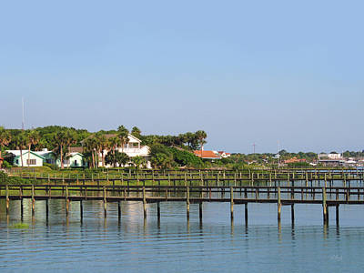 Art Print featuring the photograph St. Augustine Morning by Gordon Beck