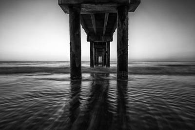 Photograph - St Augustine Pier At Daybreak by Stefan Mazzola