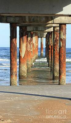 Photograph - St. Augustine Pier by Marcia Lee Jones