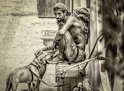 Photograph - St. Augustine Street Life I by JoeDes Photography