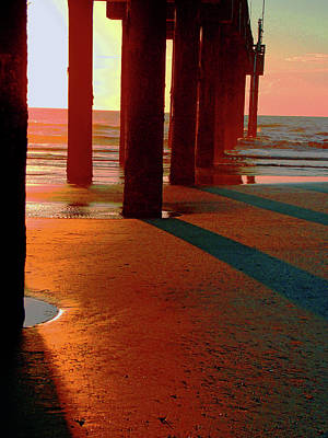 Photograph -     St Augustine Sunrise  by Bob Johnson