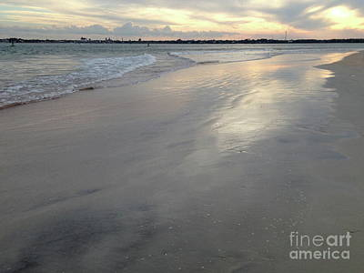 Photograph - St. Augustine Sunset by Mark Messenger