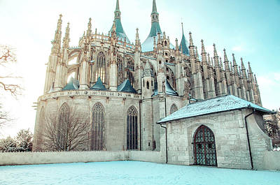 Photograph - St Barbara Church In Kutna Hora by Jenny Rainbow