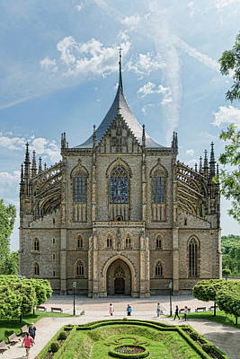 Photograph - St. Barbara Church by Sharon Popek