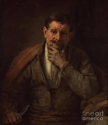 St. Bartholomew By Rembrandt Harmensz. Van Rijn Art Print by Esoterica Art Agency