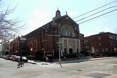 Photograph - St. Bartholomew Rc Church by Steven Spak
