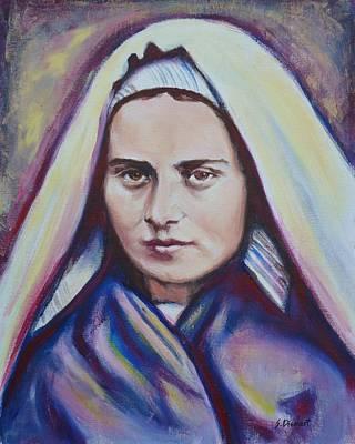 St. Bernadette Soubirous Original by Sheila Diemert