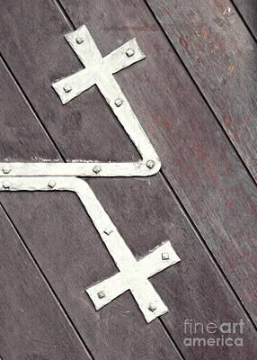 Photograph - St. Bonifatius Church Doors 2 by Sarah Loft