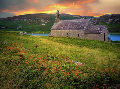 Photograph - St. Brendan The Navigator Church Of Ireland In Crookhaven by James Truett