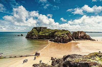 Photograph - St Catherines Island Tenby by Steve Purnell