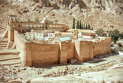 Photograph - St Catherine's Monastery...sinai by Paul Vitko