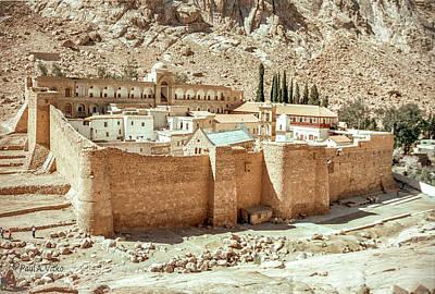 Photograph - St Catherine's Monastery...sinai by Paul Vitko