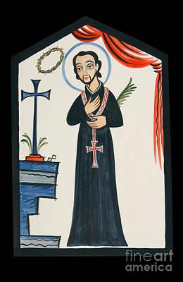 Painting - St. Cayetano - Aocay by Br Arturo Olivas OFS