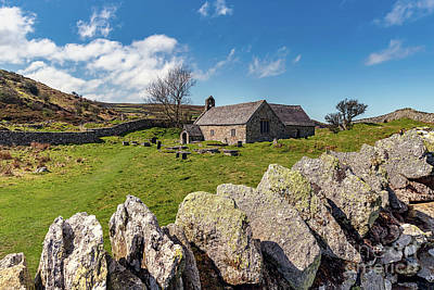 Photograph - St Celynnin Church, Llangelynnin by Adrian Evans