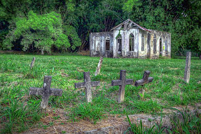 Photograph - St. Chads Church, Trinidad by Nadia Sanowar