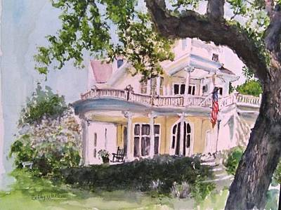 Painting - St Charles @ Valance New Orleans by Bobby Walters