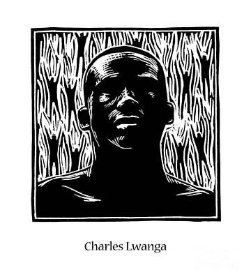 Painting - St. Charles Lwanga - Jlchl by Julie Lonneman