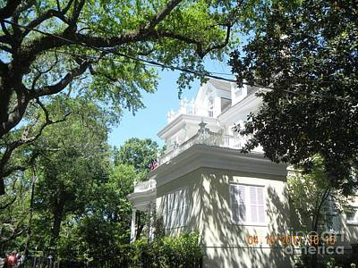 Photograph - St. Charles Mansion by Rosanne Licciardi