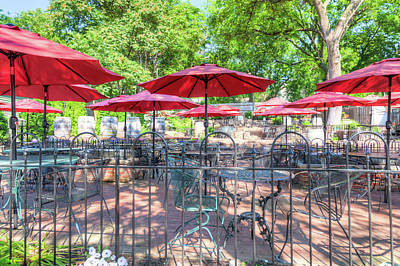 Photograph - St. Charles Umbrellas by Spencer McDonald