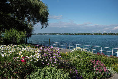 Photograph - St. Clair River by Grace Grogan