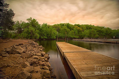 Photograph - St. Croix Bluffs Boat Launch 02 by Jimmy Ostgard
