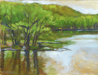 Painting - St. Croix, Spring Flood by Kim Gordon