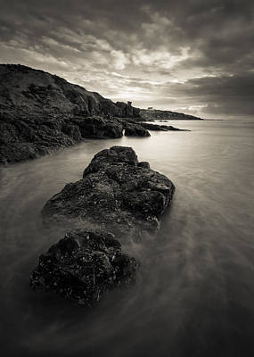 Photograph - St Cyrus Beach by Dave Bowman