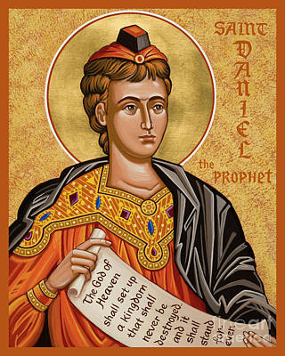 Painting - St. Daniel The Prophet - Jcdap by Joan Cole