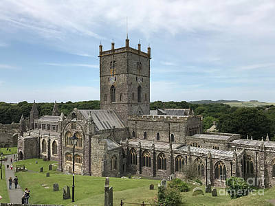 Photograph - St David's Cathedral by Patricia Hofmeester