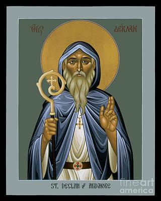 Painting - St. Declan Of Ardmore - Rldoa by Br Robert Lentz OFM