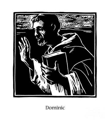 Painting - St. Dominic - Jldom by Julie Lonneman