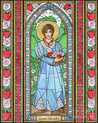 Painting - St. Dorothy by Brenda Nippert